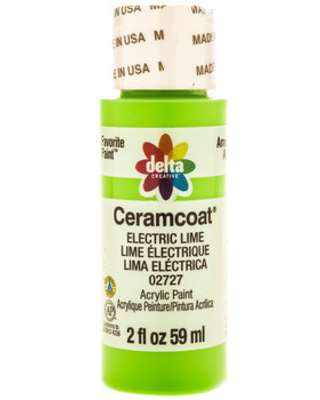 Electric Lime Ceramcoat Acrylic Paint