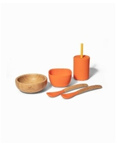 Avanchy Baby Boys and Girls La Petite Family Collections Gift Set, Set of 6 - Orange