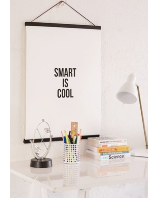 Cult Paper Smart Is Cool Art Print - Assorted 18X24 at Urban Outfitters