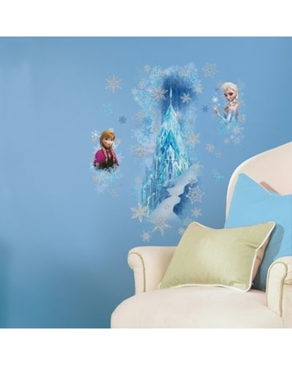 RoomMates Disney® Frozen Ice Palace Peel and Stick Giant Wall Decals