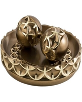 Bloomsbury Market Holden Owl Bowl with Spheres BLMT2436