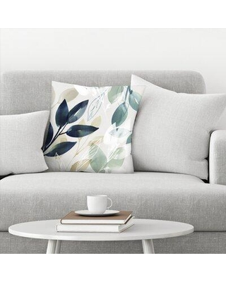 "East Urban Home Sleeves I Throw Pillow EBID6544 Size: 14"" H x 14"" W"