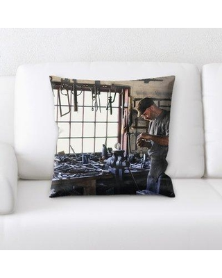 East Urban Home Adult Throw Pillow W000073921