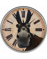 New Deal For Tarvin Mule Wall Clock August Grove Size Small