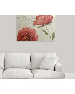 """Great Big Canvas 'My Own Words' by Lisa Audit Graphic Art Print 1053157_1 Size: 24"""" H x 36"""" W x 1.5"""" D Format: Canvas"""