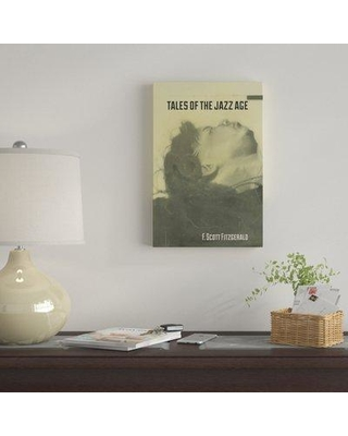 """East Urban Home 'Tales Of The Jazz Age By Eben Haines' By Creative Action Network Graphic Art Print on Wrapped Canvas EUME3334 Size: 26"""" H x 18"""" W x 1.5"""" D"""