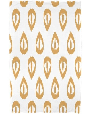 "Simply Daisy 30"" x 60"" Ikat Tears Geometric Print Beach Towel"