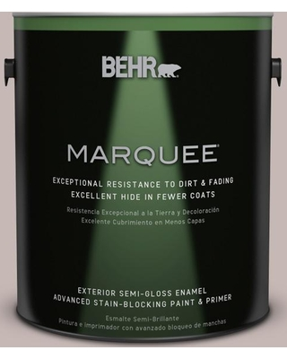 BEHR MARQUEE 1 gal. Home Decorators Collection #hdc-CL-25G Georgian Pink Semi-Gloss Enamel Exterior Paint & Primer