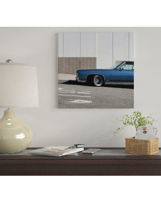 """East Urban Home 'Impala 847 CTF II' by Jens Ochlich Graphic Art Print on Wrapped Canvas EUME4465 Size: 12"""" x 12"""" x 0.75"""""""