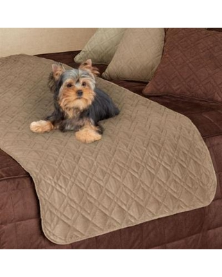 Mason Ultimate Bed Protector for Pets, Full / Queen, Natural
