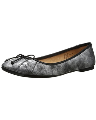 Seychelles Women's Standing in Line, Silver Distressed/Black, 10 M US