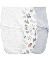 Aden + Anais Essentials Swaddle Blanket Neutral toile - S/M 3pk
