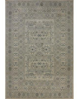 """Astoria Grand Attell Oriental Silver/Gray Area Rug BTUE4295 Rug Size: Rectangle 7'10"""" x 11'2"""""""