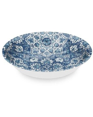 Check Out Deals On Bloomsbury Market Mary Alice Medallion Melamine 126 Fl Oz Serving Bowl Melamine In Blue Size 13 H X 13 W X 2 D Wayfair