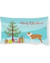 The Holiday Aisle Central Asian Shepherd Dog Indoor/Outdoor Lumbar Pillow THLA4024