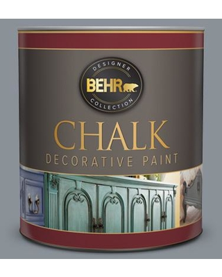 BEHR 1 qt. #PPU18-04 Dark Pewter Interior Chalk Finish Paint