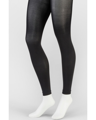 02d1f4dc1285e Huge Deal on Women's 50D Footless Opaque Tights - A New Day Black M/L