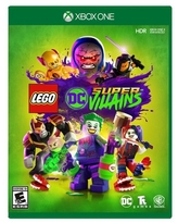 LEGO DC Super-Villains, Warner, Xbox One, REFURBISHED/PREOWNED