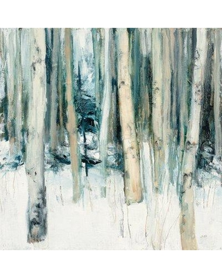 "East Urban Home 'Winter Woods II' Graphic Art Print on Wrapped Canvas ERNI2551 Size: 18"" H x 18"" W x 1.5"" D"