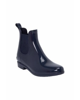 Women's The Uma Rain Boot by Comfortview In Navy (Size 10 W)