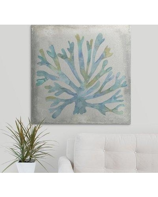 """Great Big Canvas 'Coral I' Megan Meagher Painting Print 2275920_ Size: 16"""" H x 16"""" W x 1.5"""" D Format: Canvas"""