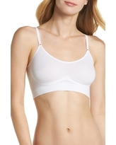 Women's Yummie Convertible Scoop Neck Bralette, Size Medium/Large - White