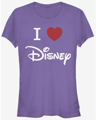 Disney Classic I Heart Disney Logo Girls T-Shirt