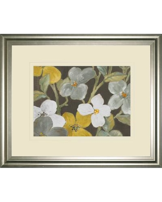 Classy Art Wholesalers Garden Party in Gray 1 by Lanie Loreth Framed Painting Print DM5521