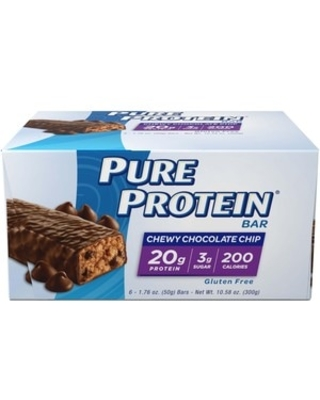 Pure Protein High Protein Bar Chewy Chocolate Chip - 1.76 oz | CVS