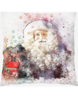 The Holiday Aisle Chouteau Christmas Indoor/Outdoor Canvas Throw Pillow W001070549