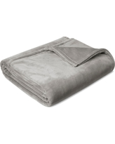 Microplush Bed Blanket (Full/Queen) Seagull - Threshold