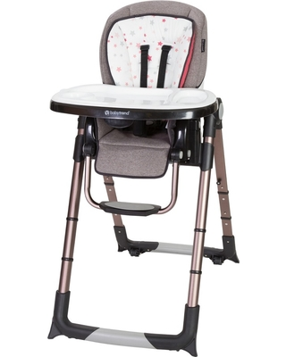Baby Trend Baby Trend Go Lite Snap Gear 5 In 1 Feeding Center High Chair Stardust Rose From Target People