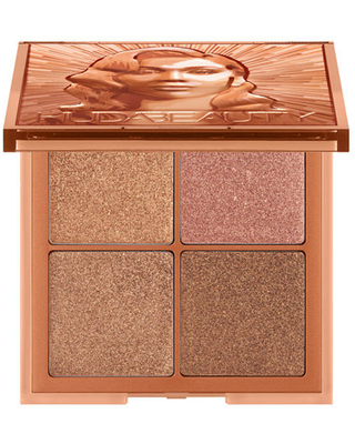 HUDA BEAUTY Glow Obsessions Highlighter Face Palette, One Size , Multiple Colors
