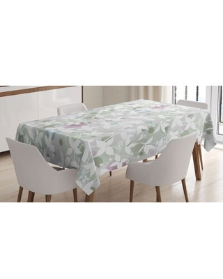 "Tablecloth East Urban Home Size: 90"" x 60"""