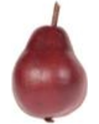"""Charlton Home Traditional Pear Red Figurine (Set of 4) CHLH8069 Size: 3.5"""" H"""