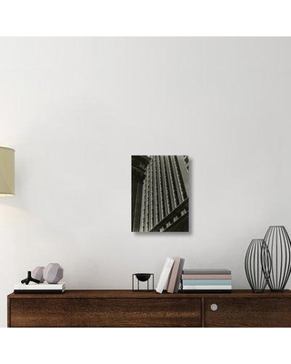 """East Urban Home 'Untitled (Architectural Abstraction New York) 1930s or 1940s' Photographic Print on Wrapped Canvas ERNI8805 Size: 22"""" H x 16.5"""" W x 1.5"""" D"""