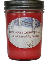 CoveHouseCandleCo Mulberry Jar Candle CHCC-MUL8