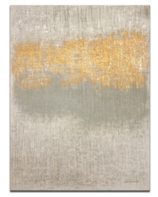 "Ready2HangArt 'Quiet Words' Abstract Canvas Wall Art - 30"" x 20"""