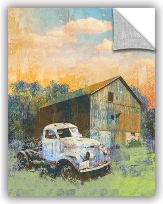 """ArtWall Abandoned' by Greg Simanson Removable Wall Decal JJM8635 Size: 24"""" H x 18"""" W x 0.1"""" D"""