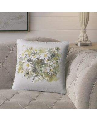 August Grove Bossier Indoor / Outdoor Floral Throw Pillow BHHS6510