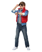Back to the Future Child Marty McFly Costume