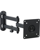Full-Motion TV Wall Mount for 15 in. - 27 in. TVs, Black