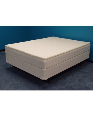 """Winners Montrose 1.5-in Pillowtop Complete Set 28"""" Waveless Shallow fill Soft-side Waterbed Mattress"""