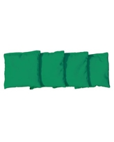 Victory Tailgate Regulation All-Weather Cornhole Bags in Kelly Green (Set of 4)