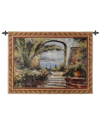 Rose Arch Tapestry Fine Art Tapestries
