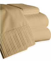 Home Sweet Home Dreams Chamberlain London Microfiber Sheet Set 6783 Color: Taupe, Size: Full