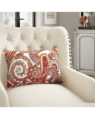 Get This Deal On Iolanthe Paisley Lumbar Pillow Three Posts