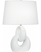 Robert Abbey Fusion Lily Ceramic Table Lamp