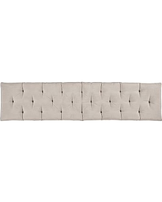 Wade Entry Bench Cushion Large Solid Cadet Gray