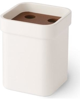WS Bath Collections Curva Toothbrush Holder Curva 5146 Color: Brown